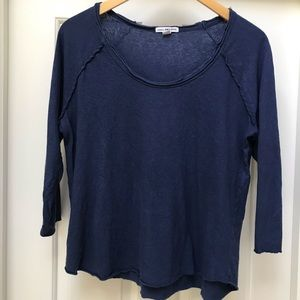 James Perse 3/4 sleeve t shirt.